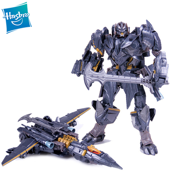 Transformatory Hasbro ostatni rycerz Premier Edition Voyager klasy Megatron Model postaci zabawki