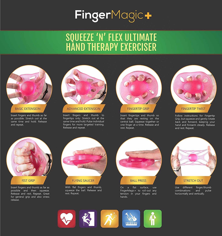 Dedo de silicone pinça 8 buracos mão exercitador dedo maca aperto força pulso dedo trainer bola yoga instrutor ginásio guitarra