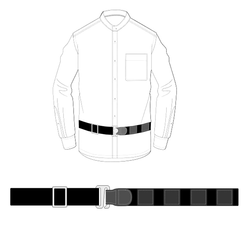 Shirt Holder Adjustable Near Shirt Stay Best Tuck It Belt For Women Men Work Interview SER88