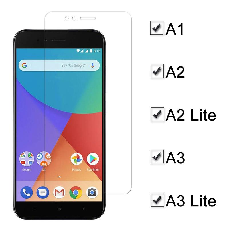 Легкое Защитное стекло для Xiaomi a3 mi a2 lite A1 защита для экрана для Ksiomi My A 1 2 3 2A 3A A2Lite защитная пленка из закаленного стекла