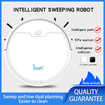 ObowAI 2020 best quality 2000Pa 2000mAh app remote control robot vacuum cleaner robotics wireless cleaners - discount item  57% OFF Household Appliances