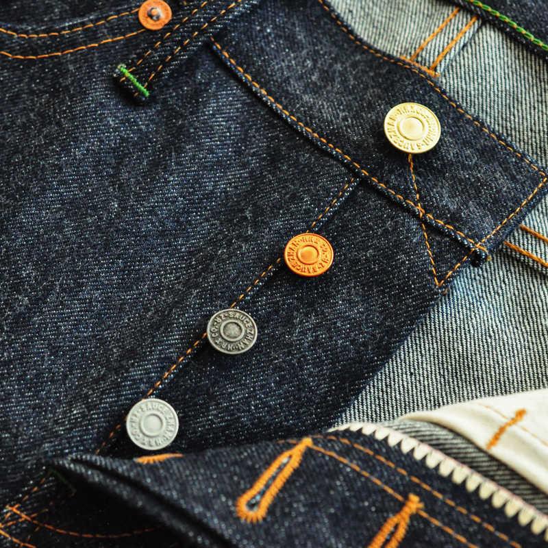 Sosu menşei 910-CL kenar kot ham kot erkek kot erkek kot marka amerikan pamuk Slim Fit kot erkekler için mavi kot