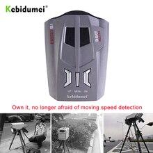 Автомобильный радар-детектор, голосовое оповещение V9, анти-скоростной радар-сигнал, светодиодный дисплей, 360 градусов, система тестирования скорости автомобиля