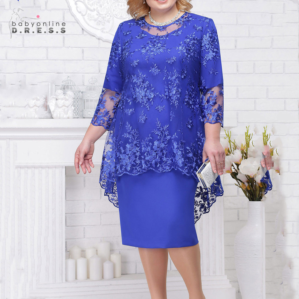 Madre New Lace Mother Of The Bride Dresses Modest Royal Navy Blue Burgundy Wedding Party Dresses Vestido Marsala Madrinha