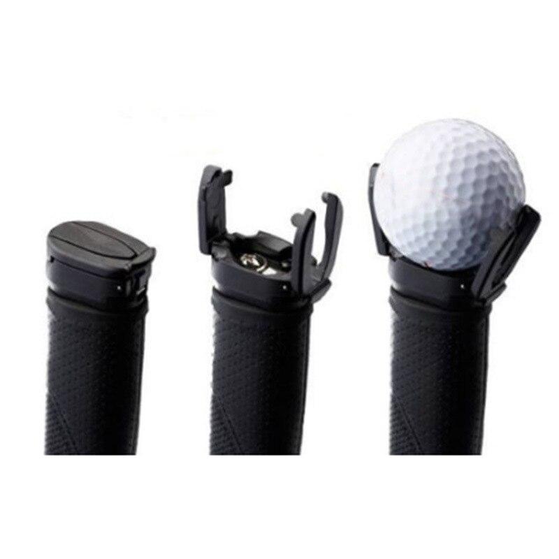 New Style Golf Putter Hair Ball Trimmer Golf Ball Pick-up Push Rod Ball Grasper Wholesale