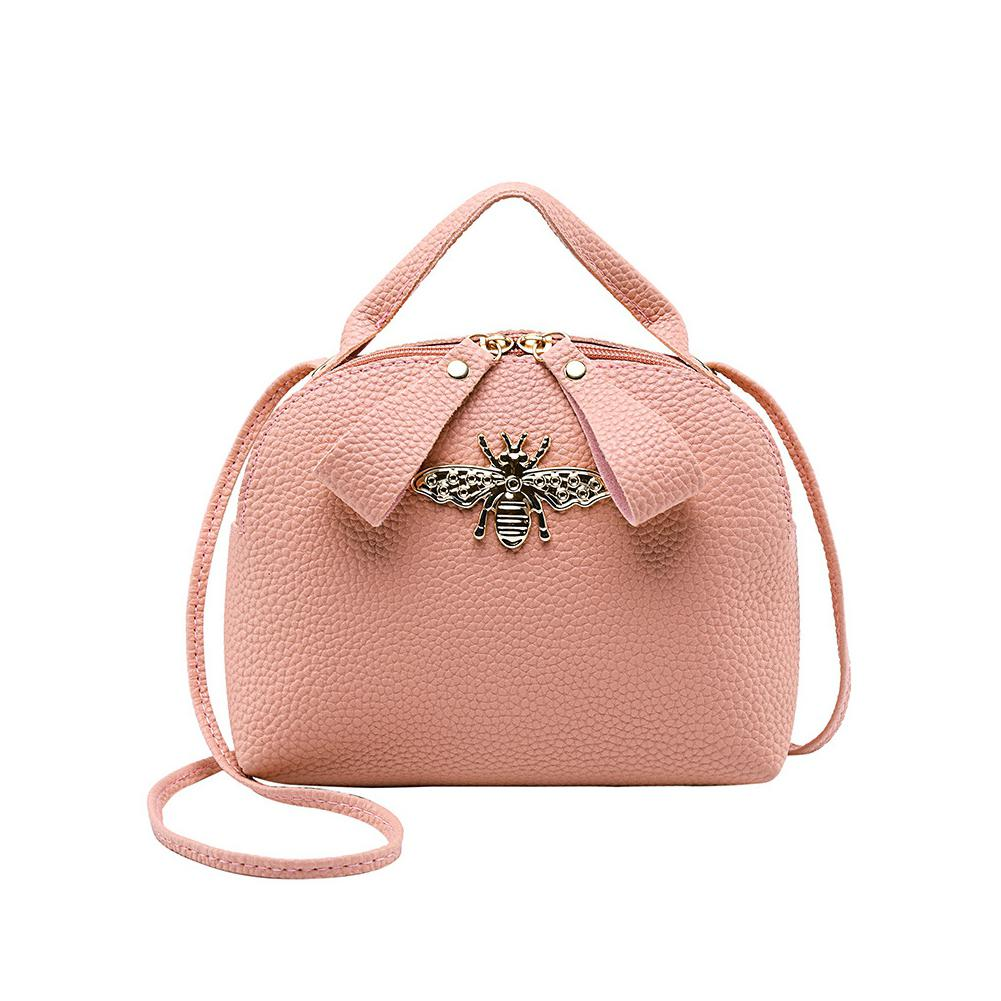PinShang Women Fashion Cute Bee Single-shoulder Bag Handbag
