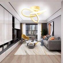 Lámpara Led moderna para pasillo, candelabro de pasillo, pasillo, balcón, vestíbulo, decoración para el hogar, comedor, luminaria para techo