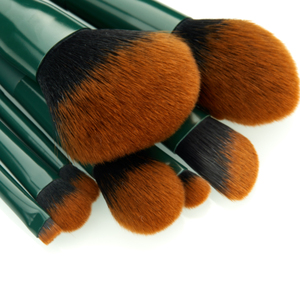 Image 2 - Jessup brush Makeup brush Trekking Green Powder Eyeshadow Concealer Foundation Make up brushes Rubber coated Synthetic hair