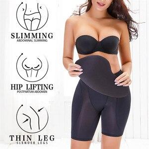 Image 3 - Women Sexy Shaper Panties Butt Lifter Hip Pad Fake Ass Foam Padded Underpants Female Shapewear S   6XL Nude Black Color