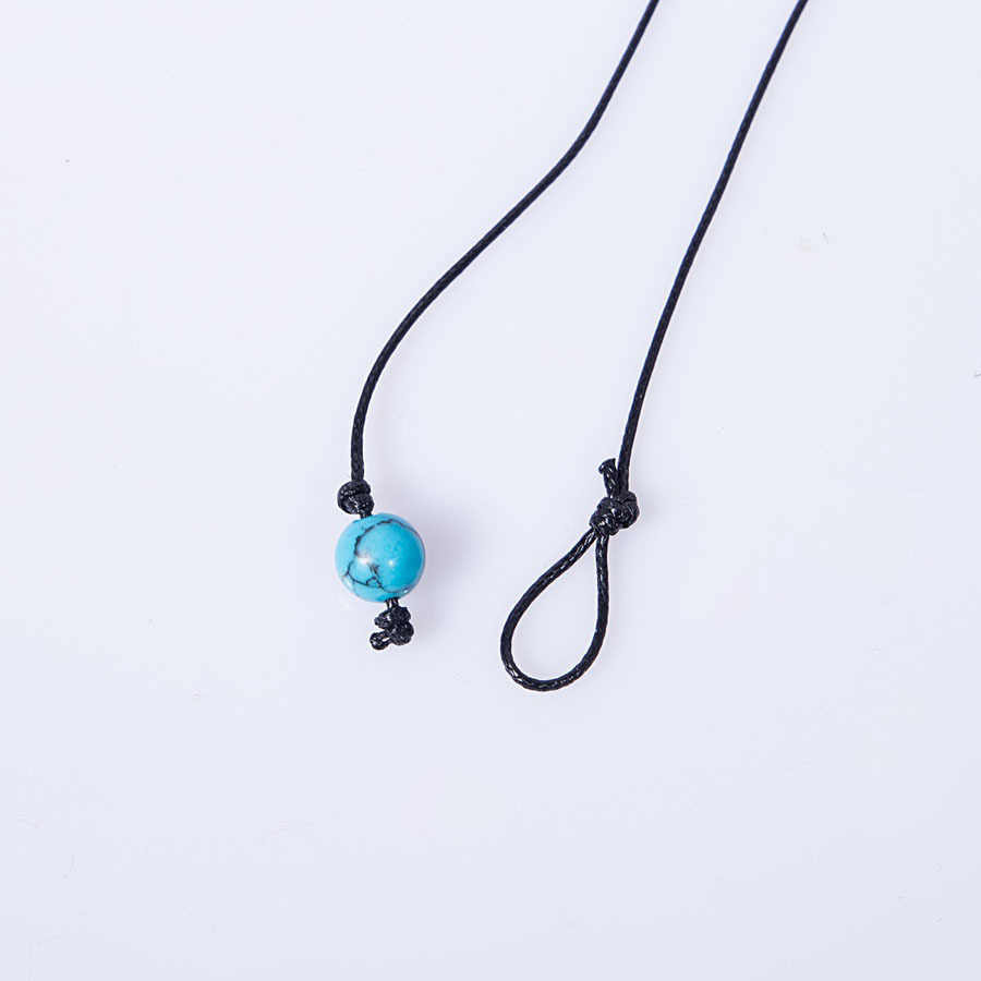 Chandler Rope Chain Bead Choker Necklace Shell Chocker For Women Girls Pearl Ball Necklaces Surf Beach Jewelry Drop Shipping