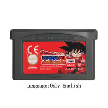 بطاقة وحدة التحكم Drago Ball ، خرطوشة ألعاب الفيديو لـ Nintendo GBA ، للمغامرة المتقدمة ، الإصدار الأوروبي