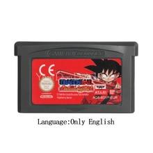 For Nintendo GBA Video Game Cartridge Console Card Drago Ball Advanced Adventure EU Version