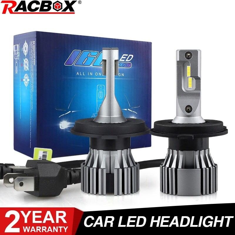 H7 автомобильная светодиодная лампа для фары H4 H11 H1 H3 H8 H9 H10 9006 HB4 9005 HB3 H27 880 881 5202 9012 HIR2 H13 9007 дальнего/ближнего света светодиодные лампы 12 В