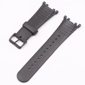 Image 3 - Akcesoria do zegarków pasek gumowy do paska zegarka SUUNTO Vector ze sprzączką