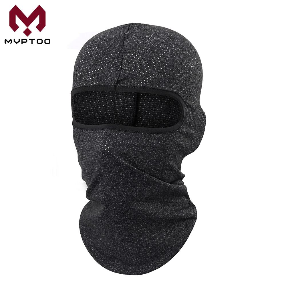 Breathable Mesh Moto Balaclava Summer Motorcycle Motorbike Motocross Cycling Head Shield Full Face Mask Helmet Liner Men Women