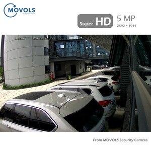 Image 5 - Movols 5MP HD H.265 8CH DVR نظام الدائرة التلفزيونية المغلقة 8 قطعة المنزل في الهواء الطلق قبة الأمن كاميرا P2P IR CUT طقم مراقبة فيديو مقاوم للماء