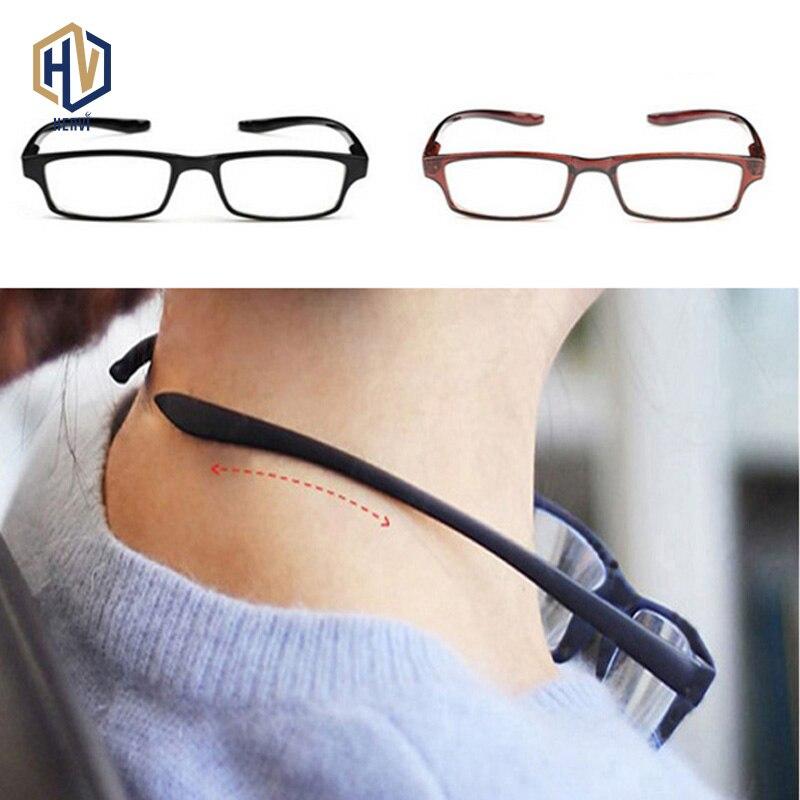 MOLNIYA Comfy Ultralight Halter Reading Glasses Hanging Stretch Women Men Antifatigue Presbyopia +1.0+1.5+2.0+2.5+3.0+3.5+4.0