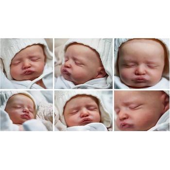20 cali zestaw części ciała do lalek Reborn realistyczne Reborn Doll Rosalie pełny zestaw zestaw lalki DIY Reborn Baby niepomalowane lalki Drop Shipping tanie i dobre opinie 25-36m 4-6y 7-12y 12 + y 18 + CN (pochodzenie) Dıy Toy Baby dolls Winylu Produkty na stanie Unisex