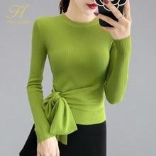 H han queen Knitted Sweater Women Fashion 2019 Autumn Tops W