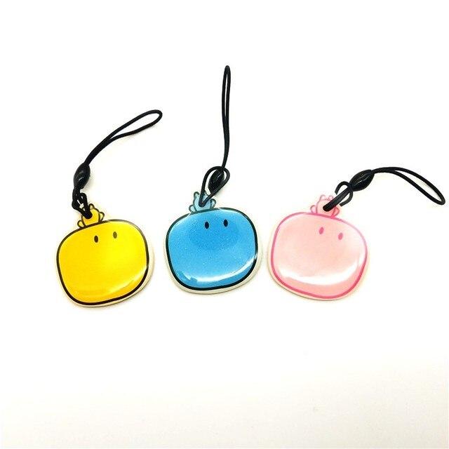 1PCS EM ID Keyfobs RFID Tag Key Ring Card 125KHZ Proximity Token Access Control EM4100 TK4100