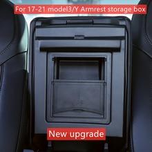 Tesla Model 3 Y Center Console Organizer Armrest Hidden Storage Box For 21 Tesla Model 3 Car Accessory Auto Armrest Holder Box
