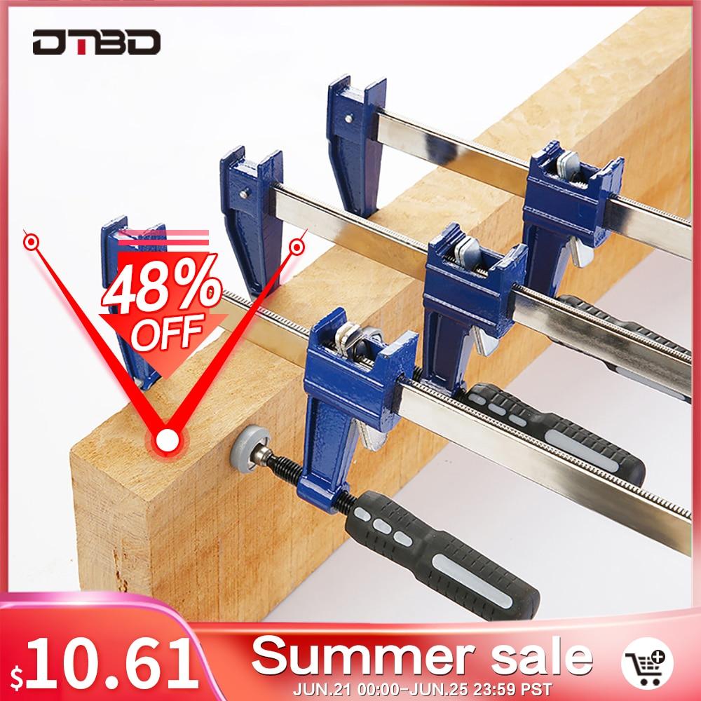 DTBD муфта F зажимы сверхмощный стержневой зажим 6/10/18/24 дюйма быстрое храповое устройство для обработки древесины зажимы для деревообработки