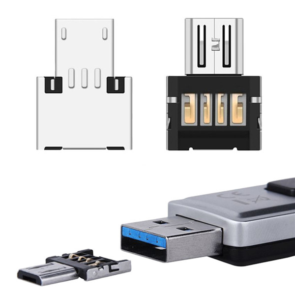 Mini USB Flash Disk U Disk 5pin Micro USB OTG Cable Adaptador Adapter Converter For Xiaomi HTC Samsung HuaWei Phone Tablet