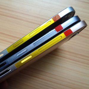 Image 4 - Für Huawei G7 Batterie Abdeckung Zurück Gehäuse Hinten Tür Fall Für Huawei Ascend G7 Batterie Abdeckung + Power Volumen Taste + Top Untere Abdeckung