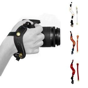 Image 1 - كاميرا قبضة اليد المعصم جلدية حزام لأوليمبوس OMD EM1 EM5 EM10 OM D E M1 E M5 E M10 مارك الثالث II 3 2 سوني A9 A7S A7R A7 III II