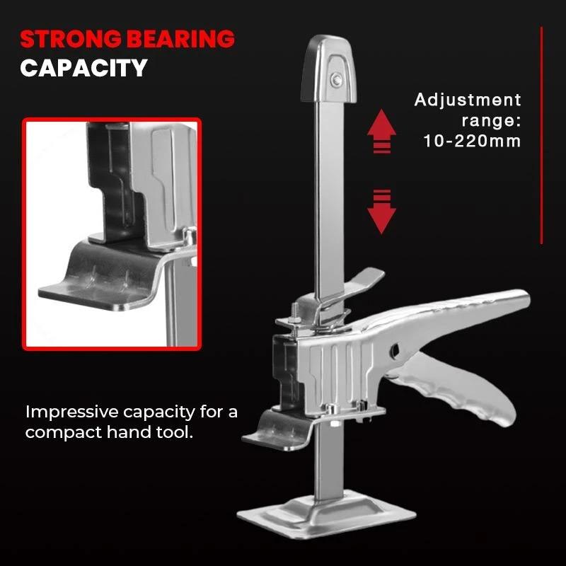 Labor-saving Arm Door Repair Anti Slip Hand Tool Height Precision Locator Wall Leveling Lifting Tool