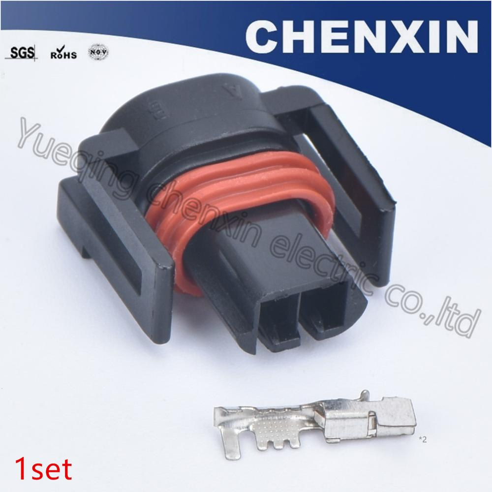 Connecteur dinjecteur 15326181 DELPHI 15411633 4 x SET