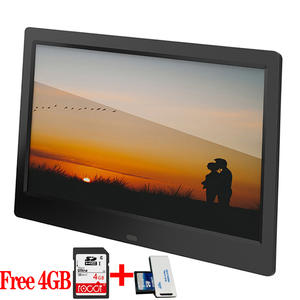 LCD Digital Photo Frame Ultrathin 10 inch HD Electronic Frame Album MP3 Music MP4 Movie Player with Remote Control