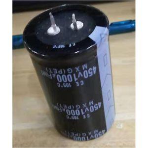 Image 2 - عالية التردد 450V 1000 فائق التوهج الألومنيوم مُكثَّف كهربائيًا حجم 35x60
