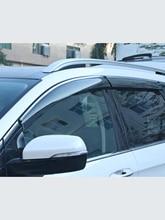 עבור פורד Mondeo13 18Window Visor רכב גשם חומת סוכך לקצץ כיסוי צד חלון מטה הטיה דלת שמש גשם צד Windows כיסוי