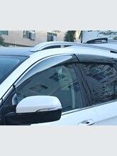 フォードMondeo13 18Windowバイザー車のレインシールドオーニングトリムカバーサイドウィンドウ偏向器ドア雨太陽サイド窓カバー