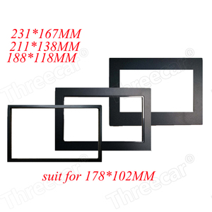 car frame for Universal 2 Din auto radio / android player Frame Retrofitting decorative framework 178 x 102mm panel