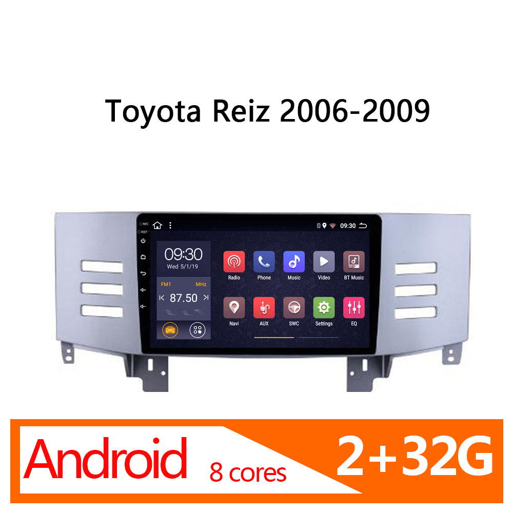 android <font><b>2</b></font> 32G 8 core radio coche for toyota reiz 2006 2007 <font><b>2008</b></font> 2009 GPS autoradio central multimidia dvd automotivo 1 <font><b>din</b></font> atoto image