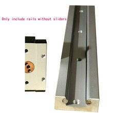 Линейный руководство встроенный двойной основной оси ролик пыли ползунок замок позиционирования квадратный Алюминий слайд SGR15/20 /25 без ползунок