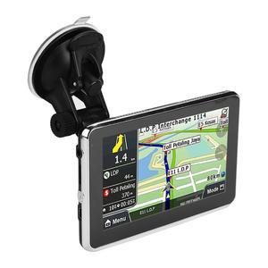 Image 2 - أداة ملاحة للسيارة مزودة بنظام تحديد المواقع DDR256M 8G MP3 FM خريطة أوروبا 508 ملحقات السيارة شاشة لمس 5 بوصة عالمية
