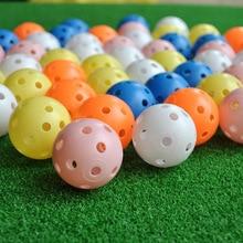 Golf-Accessories Training-Balls Practice Plastic Colorful Indoor Hollow 20pcs Airflow