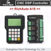 TECNR RichAuto DSP A18 4 osi CNC sterownik A18S A18E USB powiązania motion system sterowania dla cnc router grawer cnc