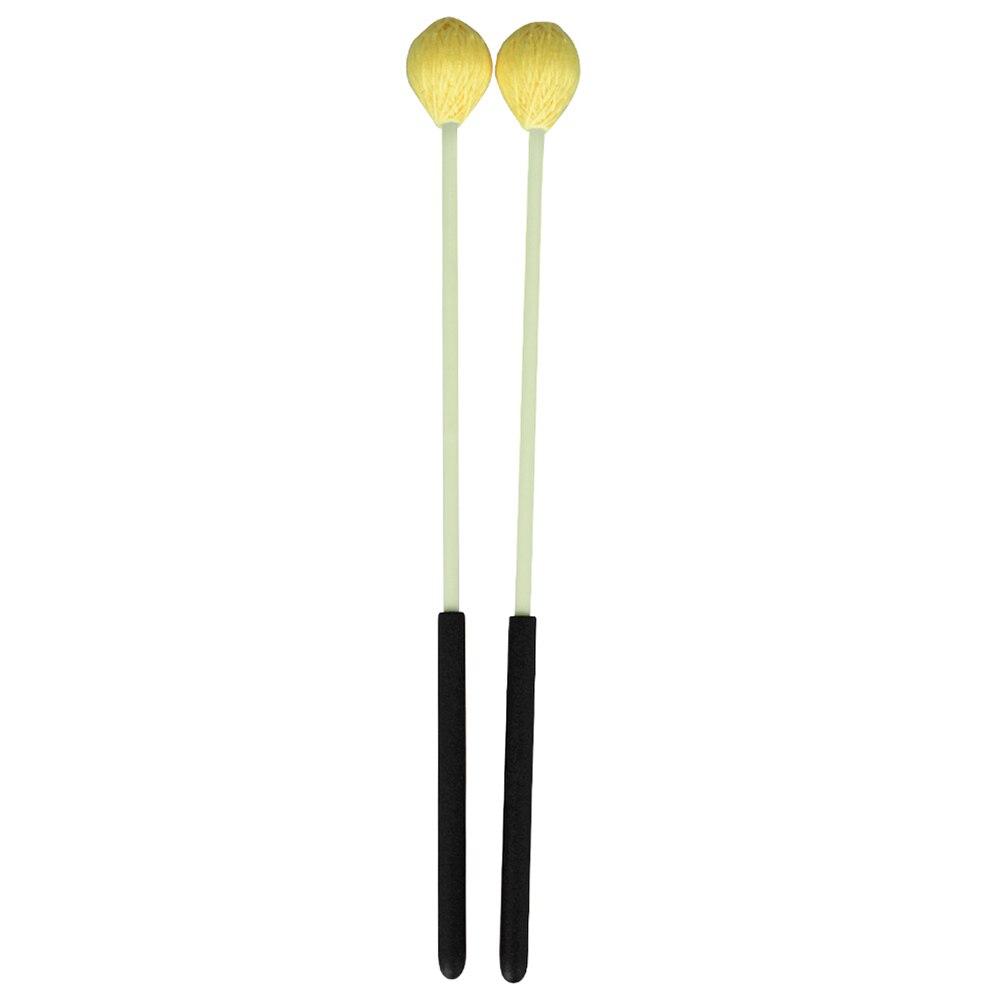 Основной маримба палка молотки Ксилофоны Glockensplel молоток со стекловолоконной ручкоятью ударный инструмент Аксессуары