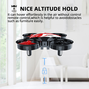 Image 5 - Heilige Steen HS210 Mini RC Drone Speelgoed Headless Drones Mini RC Quadrocopter Quadcopter Dron Een Sleutel Land Auto Zweven Helikopter