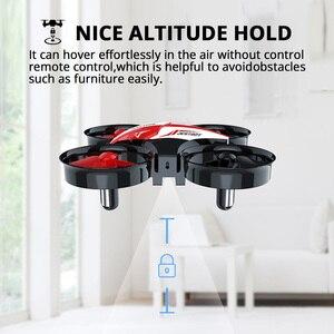 Image 5 - Heiligen Stein HS210 Mini RC Drone Spielzeug Headless Drohnen Mini RC Quadrocopter Quadcopter Eders One Key Land Auto Schwebt Hubschrauber