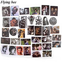 sticker motorcycle Flyingbee 35 pcs Twilight tv shows Sticker for DIY Luggage Laptop Skateboard Car Motorcycle Bicycle Stickers gifts X0725 (2)