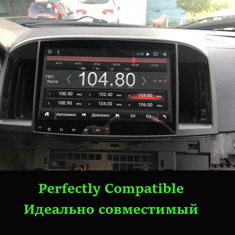 Youmecity 2GRAM Android 9.0 2DIN Xe DVD GPS Cho Xe MITSUBISHI LANCER 2008-2016 Headunit Video Wifi Đài Phát Thanh video Âm Thanh Stereo RDS