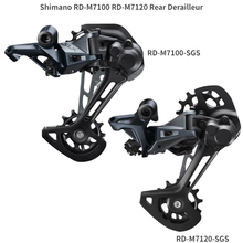 Derailleurs SGS SLX Rd M7100 24-Speed Shimano M7120 MTB Mountain-Bike Rear