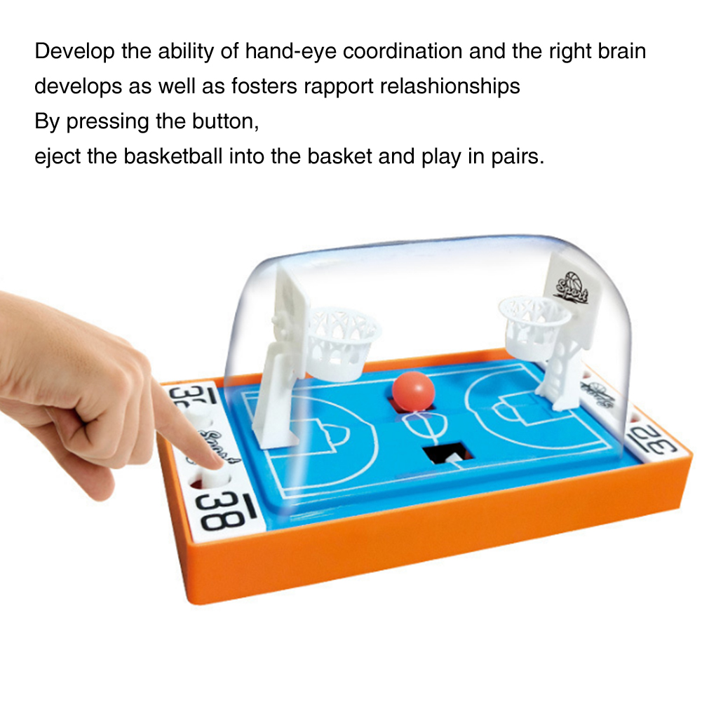 Early Education 2 Players Family Party Finger Basketball Toy Desktop Funny Parent Child Children Gift Shooting Game Hoops