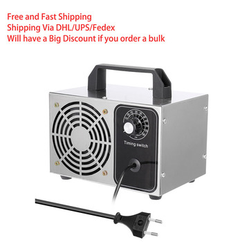 28g/h Ozone Generator 10g Ozone Machine Metal timing Purifier Air cleaner Disinfection Sterilization Cleaning Formaldehyde 220V 220v household ozone disinfection disinfector ozone generator air purifier