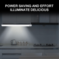 2400mAh USB Rechargeable Under Cabinet Light PIR Motion Sensor Dimmable Closet Night Light For Wardrobe Cupboard Kitchen
